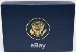 2020 President Donald Trump White House Gift Leather Business Card Holder