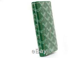 Auth GOYARD Card case Pass case Business card holder Folded wallet CHN120180