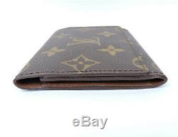 Authentic Louis Vuitton Monogram Business Credit Card Holder