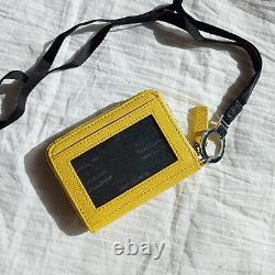 Authentic Montblanc Sartorial Business Card Holder Yellow