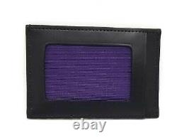 Authentic Paul Smith Card Case Business Card Holder Leather Black