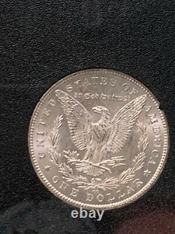Better Date 1885-CC Morgan Silver Dollar in GSA Holder With Box and COA Card