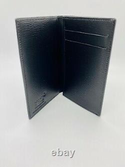 Brand New, Never Used, Montblanc Business Card Holder Black Leather
