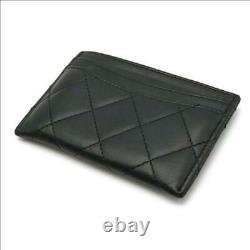 CHANEL Matrasse Coco Mark Business Card Holder Card Case Pass Case l32f1333