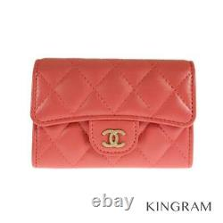CHANEL Matrasse business card holder AP0214 Credit Card Case from Japan