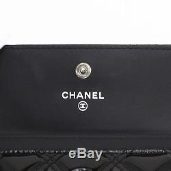 Chanel Matorasse Business Card Holder Case Ladies 7138