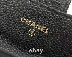 Chanel card case AP0214 classic card case business card holder gusseted M 3453