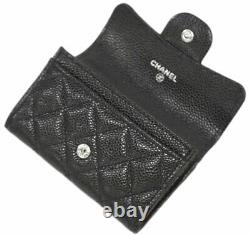 Chanel card case AP0214 classic card case business card holder gusseted M 3454
