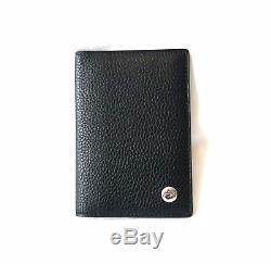 Dunhill Black Leather Business Card Holder Wallet new with tags