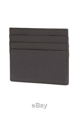 FENDI Men Leather Logo Embossed Card Holder Card/ Wallet NWT