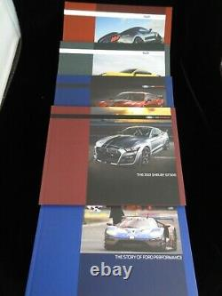 Ford Mustang Shelby GT350 Dealer Exclusive Promo Books Business Card Holder Mugs