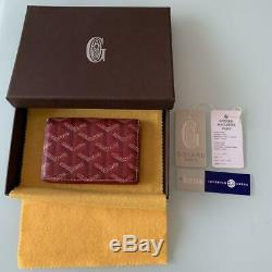 GOYARD business card holder ladies Used Excellent