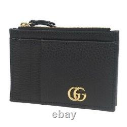 GUCCI Card Case Business card holder Coin Pocket coin purse leather 574804 2