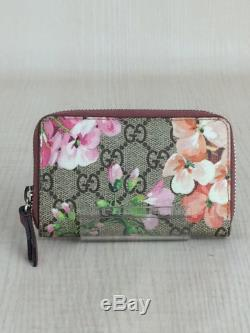 GUCCI card case GG plus business holder stainless BEG P1740