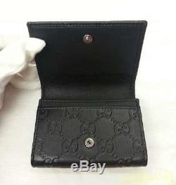 Gucci Gg Handle Blk Business Card Holder