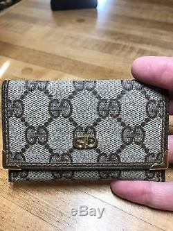 Gucci Monogram Business Card Holder