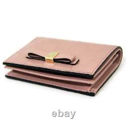 Gucci purse 406924 two-fold compact wallet card case business card holder 1380