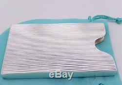 Heavy tiffany co sterling silver business card holder reheart Images