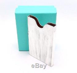 HEAVY TIFFANY & Co. STERLING SILVER BUSINESS CARD HOLDER