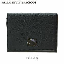 Hello Kitty PRECIOUS Genuine Leather Business Card Holder Case Wallet Gift S8005