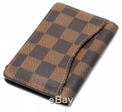 LOUIS VUITTON Damier organizer Duposshu card case business card holder pa 880