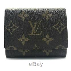 LOUIS VUITTON Monogram Amberop-Cult-Do-Visit Business Card Holder Case M62920