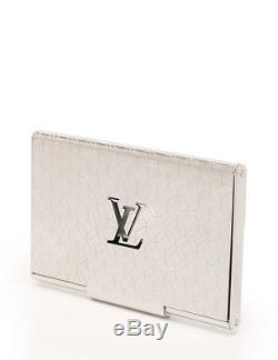 LOUIS VUITTON Porte Cult Champs Elysee card case business card holder palladium