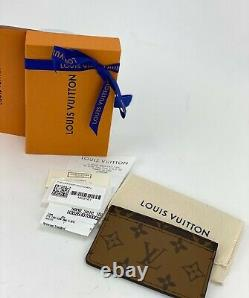 LOUIS VUITTON REVERSE MONOGRAM Business Card Holder M69161 A590 New in Box