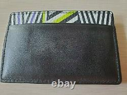 Limited Edition Tobias Rehberger MCM Leather Business Card Holder / Mini Wallet