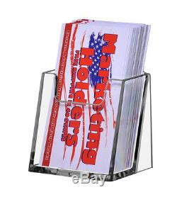 Lot of 180 Acrylic Vertical Portrait Clear Business Card Holder FREE SHIPPING