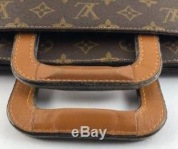 Louis Vuitton Monogram Briefcase With Business Card Credit Card Holder