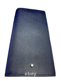 Mont Blanc Business Card Holder Meisterstuck Leather Collection New