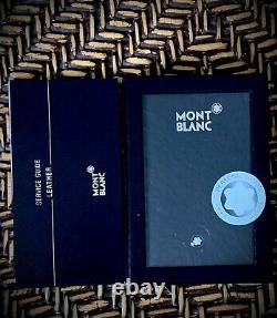Mont Blanc Meisterstuck Leather Business Card Holder