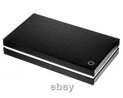 Montblanc 113224 Sartorial 7.5x11cm Brown Leather Business Card Holder New Orig