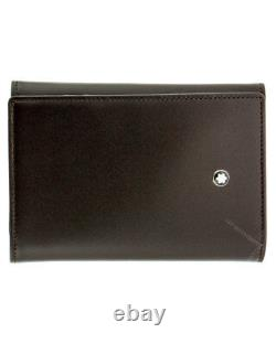 Montblanc Meisterstück Business Card Holder 9CC Brown Leather 114537 New in Box