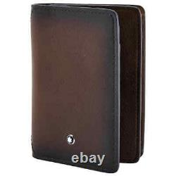 Montblanc Meisterstueck Leather Business Card Holder- Brown 118361
