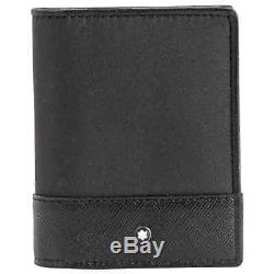 Montblanc Sartorial Jet Business Card Holder Trifold 118399