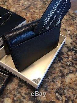 Montblanc UNICEF Signature for Good Leather Business Card Holder Limited Edition