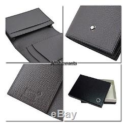 New genuine montblanc business card holder black italian calfskin new genuine montblanc business card holder black italian calfskin 109659 240 reheart Choice Image