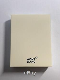 NEW Montblanc Meisterstuck Business Soft Grain Card Holder Military Green in Box