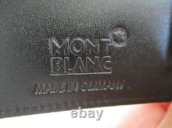 New Montblanc Meisterstuck Business Card Holder #14108 Made In Germany Free Ship
