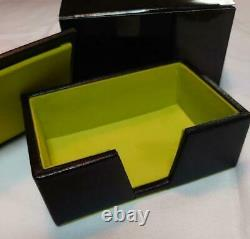 PORSCHE Business Card Holder Leather VIP Gift Novelty Limited Japan New