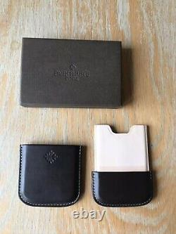 Patek Philippe Brown leather Business Card Holder