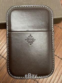 Patek Philippe Watch Business Card Case Holder Rare European Slide New In Box