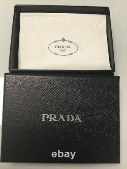 Prada Mens Card Holder New In original box with authenticity cards