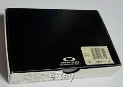 RARE OAKLEY ALUMINUM ICON Business Card Holder Case 99011 Collector Item X-metal