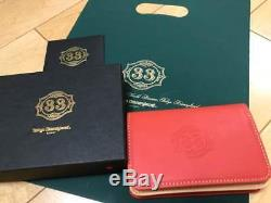 Rare Club 33 Limited Business Card Holder Leather Tokyo Disney Land Resort New