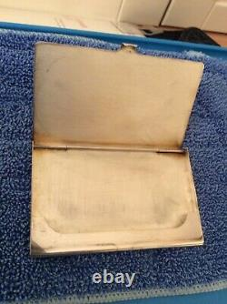 Sterling Silver Business/ Credit Card Holder By Harrison Brothers & Howson Limit