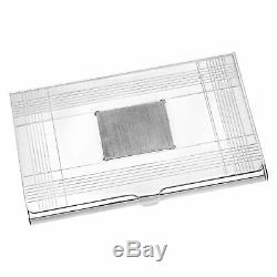 Tiffany & Co. Sterling Silver Business Card Holder
