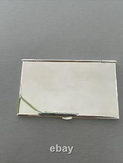 Tiffany & Co Sterling Silver Business Card Holder